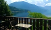 View from the Cafe Lago patio Nakusp, BC