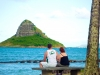 Chinaman's Hat Island, Oahu, Hawaii