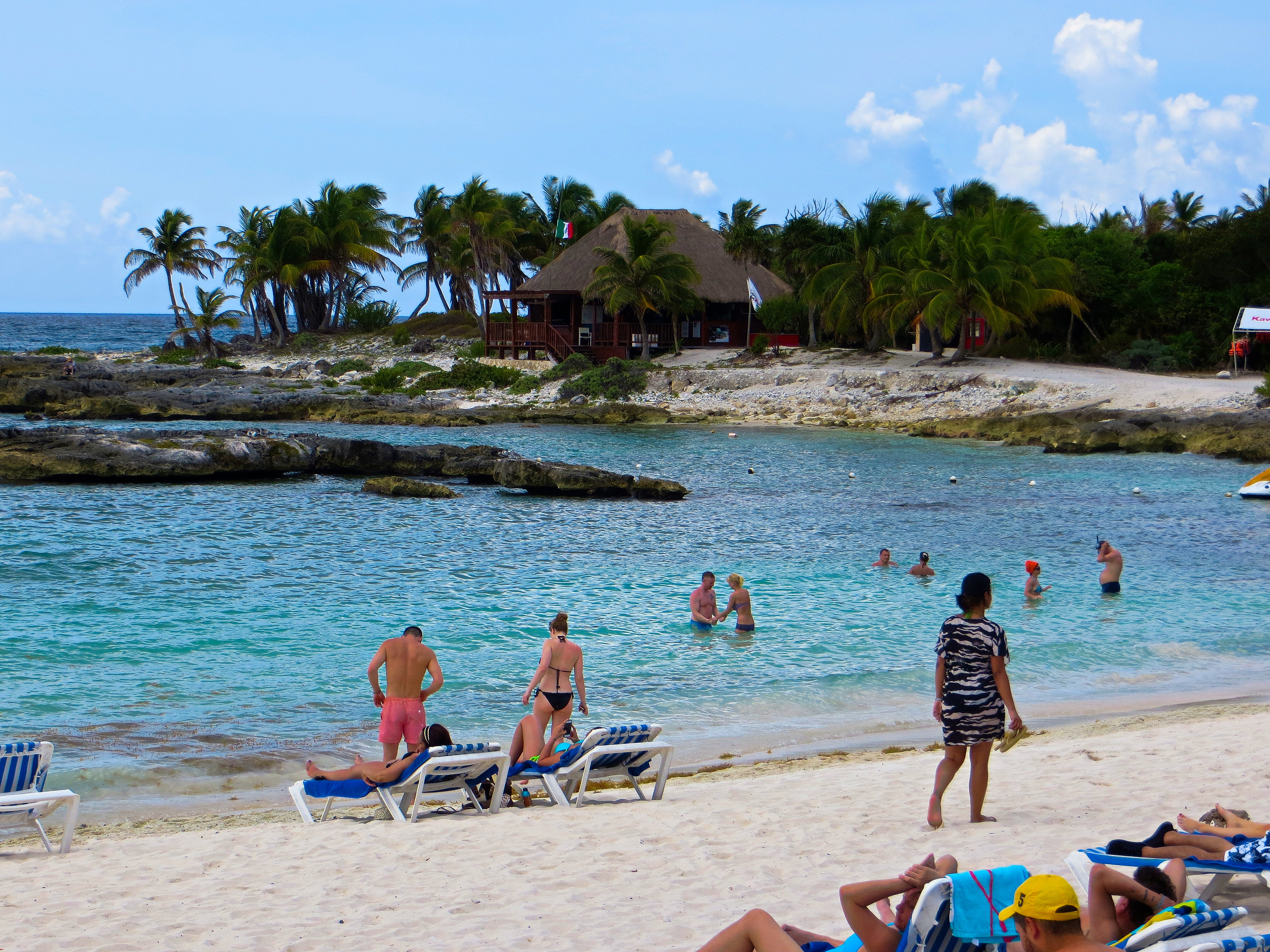 Beach at Grand Sirenis Resort, Mayan Rivieria