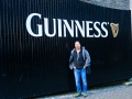 At the Guiness Tour in Dublin