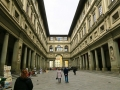Outside the Uffizzi Gallery, Florence