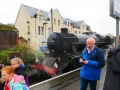 Boarding the Jacobite Train, Fort Williams to Mallaig