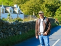 Me at Lochranza, Isle of Arran