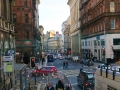 Busy street in Glasgow