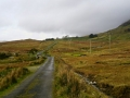 Driving in the Connemara Mountains, Ireland