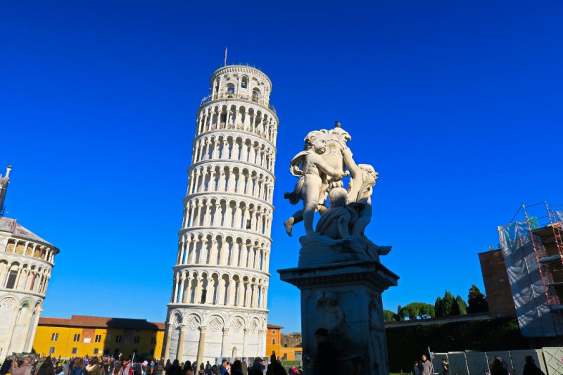 Pisa and the Leaning Tower, Italy