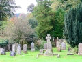 The Cemetery at Rosslyn Chapel, Scotland