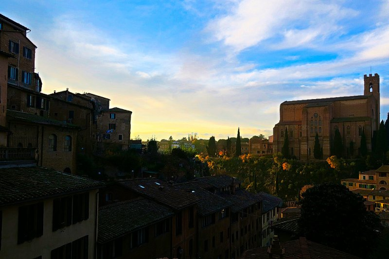 Views over Siena, Italy