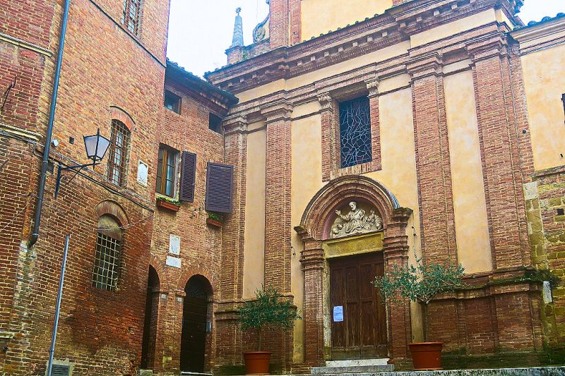Sienese Architecture, Siena, Italy