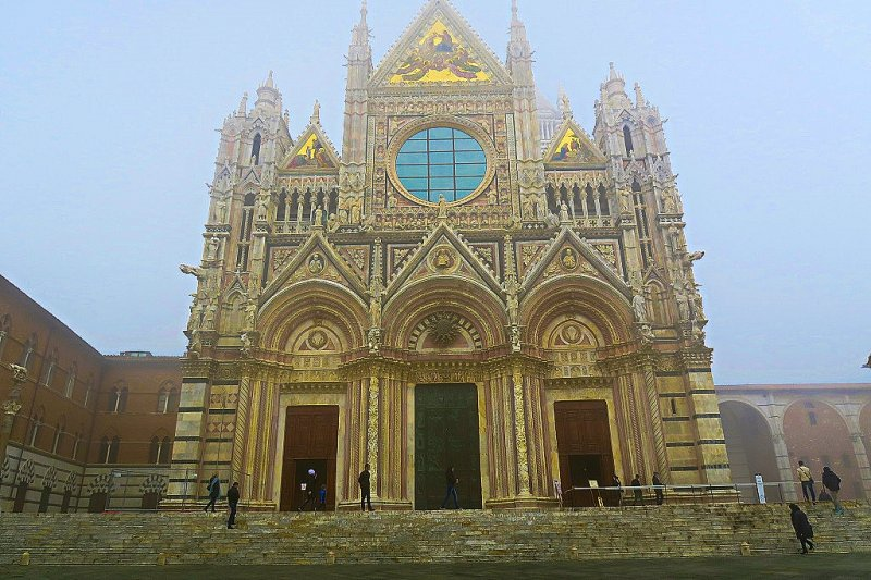 The Cathedral at Siena, Italy