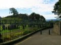 Valley Cemetery, below Stirling Castle