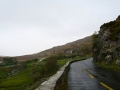 Driving along the Ring of Kerry, Ireland