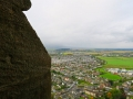 View from up top the Wallace Monument