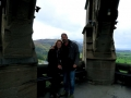 Us at the top of the Wallace Monument